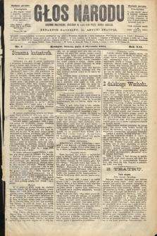 Głos Narodu : dziennik polityczny, założony w roku 1893 przez Józefa Rogosza (wydanie poranne). 1904, nr2