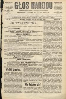 Głos Narodu : dziennik polityczny, założony w roku 1893 przez Józefa Rogosza (wydanie poranne). 1904, nr10
