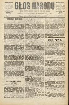 Głos Narodu : dziennik polityczny, założony w roku 1893 przez Józefa Rogosza (wydanie poranne). 1904, nr11