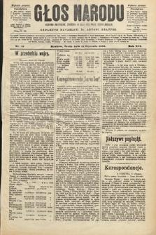 Głos Narodu : dziennik polityczny, założony w roku 1893 przez Józefa Rogosza (wydanie poranne). 1904, nr13