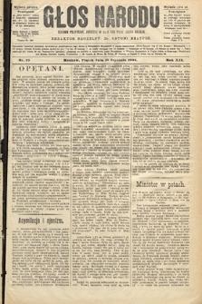 Głos Narodu : dziennik polityczny, założony w roku 1893 przez Józefa Rogosza (wydanie poranne). 1904, nr15