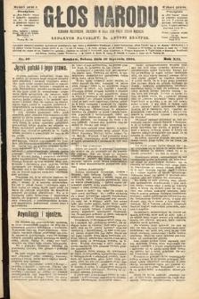 Głos Narodu : dziennik polityczny, założony w roku 1893 przez Józefa Rogosza (wydanie poranne). 1904, nr16
