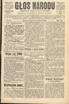 Głos Narodu : dziennik polityczny, założony w roku 1893 przez Józefa Rogosza (wydanie poranne). 1904, nr36