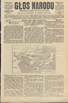 Głos Narodu : dziennik polityczny, założony w roku 1893 przez Józefa Rogosza (wydanie poranne). 1904, nr40