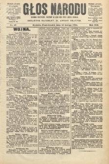 Głos Narodu : dziennik polityczny, założony w roku 1893 przez Józefa Rogosza (wydanie poranne). 1904, nr46