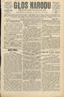 Głos Narodu : dziennik polityczny, założony w roku 1893 przez Józefa Rogosza (wydanie poranne). 1904, nr66
