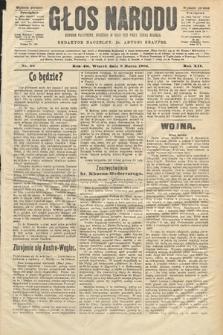 Głos Narodu : dziennik polityczny, założony w roku 1893 przez Józefa Rogosza (wydanie poranne). 1904, nr68