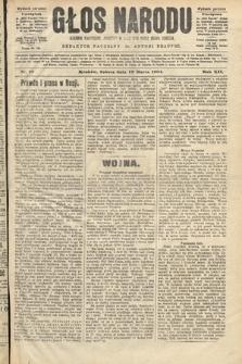 Głos Narodu : dziennik polityczny, założony w roku 1893 przez Józefa Rogosza (wydanie poranne). 1904, nr79