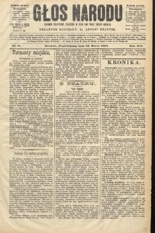 Głos Narodu : dziennik polityczny, założony w roku 1893 przez Józefa Rogosza (wydanie poranne). 1904, nr81
