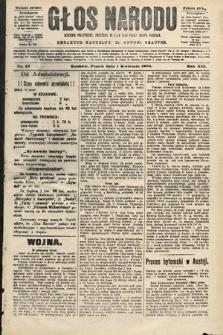 Głos Narodu : dziennik polityczny, założony w roku 1893 przez Józefa Rogosza (wydanie poranne). 1904, nr92