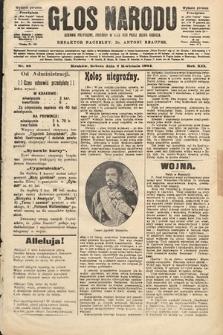 Głos Narodu : dziennik polityczny, założony w roku 1893 przez Józefa Rogosza (wydanie poranne). 1904, nr93