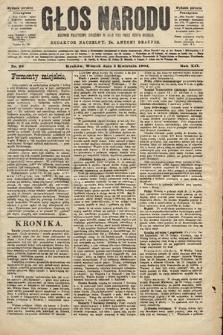 Głos Narodu : dziennik polityczny, założony w roku 1893 przez Józefa Rogosza (wydanie poranne). 1904, nr95