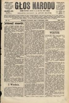 Głos Narodu : dziennik polityczny, założony w roku 1893 przez Józefa Rogosza (wydanie poranne). 1904, nr97