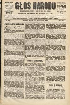 Głos Narodu : dziennik polityczny, założony w roku 1893 przez Józefa Rogosza (wydanie poranne). 1904, nr98