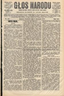 Głos Narodu : dziennik polityczny, założony w roku 1893 przez Józefa Rogosza (wydanie poranne). 1904, nr107