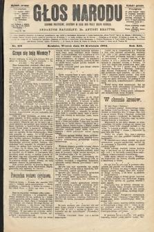 Głos Narodu : dziennik polityczny, założony w roku 1893 przez Józefa Rogosza (wydanie poranne). 1904, nr116