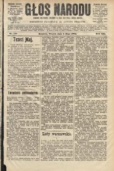 Głos Narodu : dziennik polityczny, założony w roku 1893 przez Józefa Rogosza (wydanie poranne). 1904, nr123