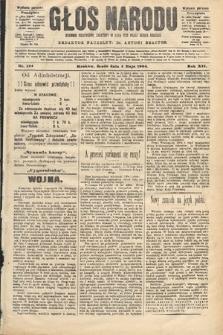 Głos Narodu : dziennik polityczny, założony w roku 1893 przez Józefa Rogosza (wydanie poranne). 1904, nr124