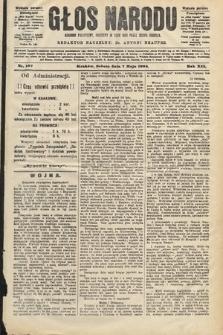 Głos Narodu : dziennik polityczny, założony w roku 1893 przez Józefa Rogosza (wydanie poranne). 1904, nr127