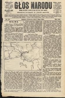 Głos Narodu : dziennik polityczny, założony w roku 1893 przez Józefa Rogosza (wydanie poranne). 1904, nr128