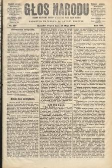 Głos Narodu : dziennik polityczny, założony w roku 1893 przez Józefa Rogosza (wydanie poranne). 1904, nr133