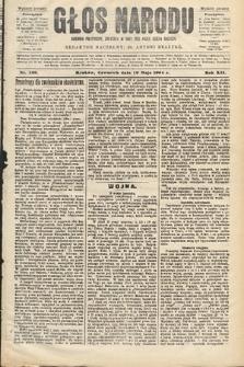 Głos Narodu : dziennik polityczny, założony w roku 1893 przez Józefa Rogosza (wydanie poranne). 1904, nr139