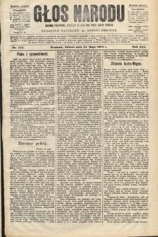 Głos Narodu : dziennik polityczny, założony w roku 1893 przez Józefa Rogosza (wydanie poranne). 1904, nr141