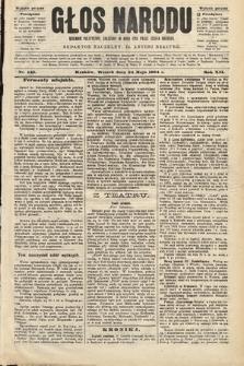 Głos Narodu : dziennik polityczny, założony w roku 1893 przez Józefa Rogosza (wydanie poranne). 1904, nr143