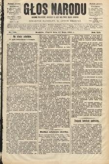 Głos Narodu : dziennik polityczny, założony w roku 1893 przez Józefa Rogosza (wydanie poranne). 1904, nr146