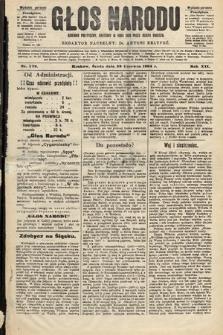 Głos Narodu : dziennik polityczny, założony w roku 1893 przez Józefa Rogosza (wydanie poranne). 1904, nr179