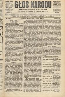 Głos Narodu : dziennik polityczny, założony w roku 1893 przez Józefa Rogosza (wydanie poranne). 1904, nr189