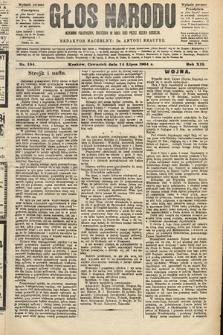 Głos Narodu : dziennik polityczny, założony w roku 1893 przez Józefa Rogosza (wydanie poranne). 1904, nr194