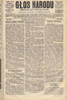 Głos Narodu : dziennik polityczny, założony w roku 1893 przez Józefa Rogosza (wydanie poranne). 1904, nr203