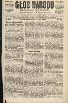 Głos Narodu : dziennik polityczny, założony w roku 1893 przez Józefa Rogosza (wydanie poranne). 1904, nr204
