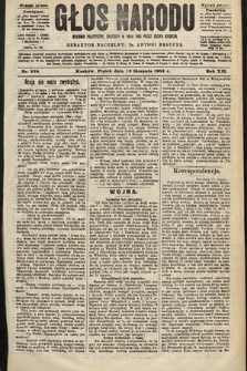 Głos Narodu : dziennik polityczny, założony w roku 1893 przez Józefa Rogosza (wydanie poranne). 1904, nr229