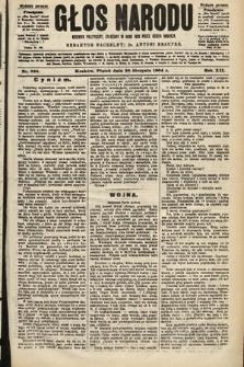 Głos Narodu : dziennik polityczny, założony w roku 1893 przez Józefa Rogosza (wydanie poranne). 1904, nr236