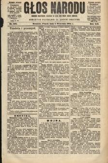 Głos Narodu : dziennik polityczny, założony w roku 1893 przez Józefa Rogosza (wydanie poranne). 1904, nr250