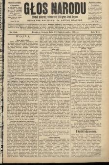Głos Narodu : dziennik polityczny, założony w roku 1893 przez Józefa Rogosza (wydanie poranne). 1904, nr286