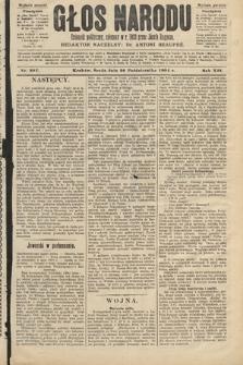 Głos Narodu : dziennik polityczny, założony w roku 1893 przez Józefa Rogosza (wydanie poranne). 1904, nr297