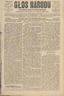 Głos Narodu : dziennik polityczny, założony w roku 1893 przez Józefa Rogosza (wydanie poranne). 1904, nr300
