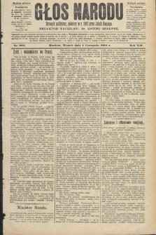 Głos Narodu : dziennik polityczny, założony w roku 1893 przez Józefa Rogosza (wydanie poranne). 1904, nr303