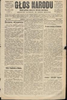 Głos Narodu : dziennik polityczny, założony w roku 1893 przez Józefa Rogosza (wydanie poranne). 1904, nr305
