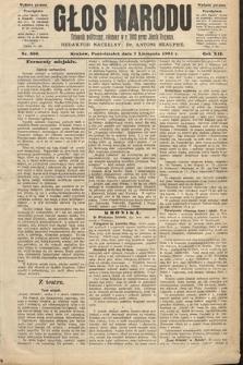 Głos Narodu : dziennik polityczny, założony w roku 1893 przez Józefa Rogosza (wydanie poranne). 1904, nr309