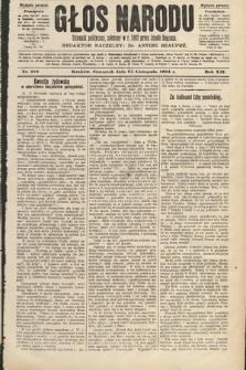 Głos Narodu : dziennik polityczny, założony w roku 1893 przez Józefa Rogosza (wydanie poranne). 1904, nr326
