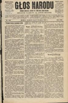 Głos Narodu : dziennik polityczny, założony w roku 1893 przez Józefa Rogosza (wydanie poranne). 1904, nr336