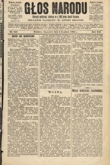 Głos Narodu : dziennik polityczny, założony w roku 1893 przez Józefa Rogosza (wydanie poranne). 1904, nr340