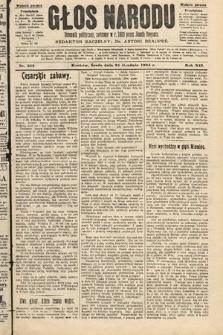 Głos Narodu : dziennik polityczny, założony w roku 1893 przez Józefa Rogosza (wydanie poranne). 1904, nr353