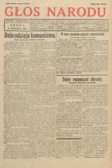 Głos Narodu. 1927, nr256