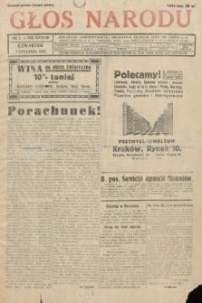 Głos Narodu. 1931, nr1