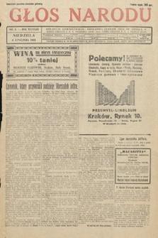 Głos Narodu. 1931, nr4